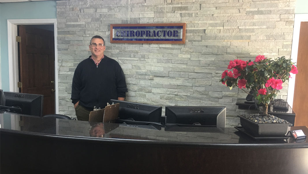 Front Desk Dr. Benson Chiropractic Professionals of Columbia